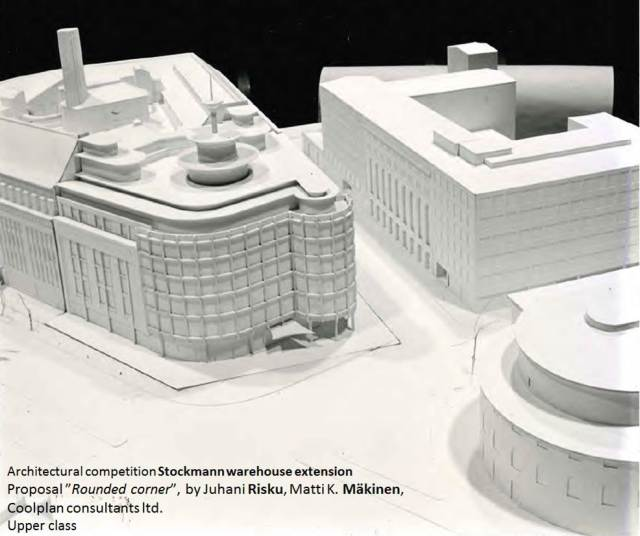 15_Architecture-Rock-Architectural-competition-Stockmann-warehouse-extension-Helsinki-Rounded-corner-Juhani-Risku-Matti-K-Mäkinen-Coolplan-consultants-ltd-Upper-class-SAFA