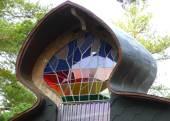 15_Architecture-Vivamo-Kivikappeli-Stone-Chapel-Rock-stained-glass-copper-roof-bent-wood-woodwork-carpentry-Juhani-Risku-architect-acoustician-Lohja-copyright-Matti-Henrik-2008