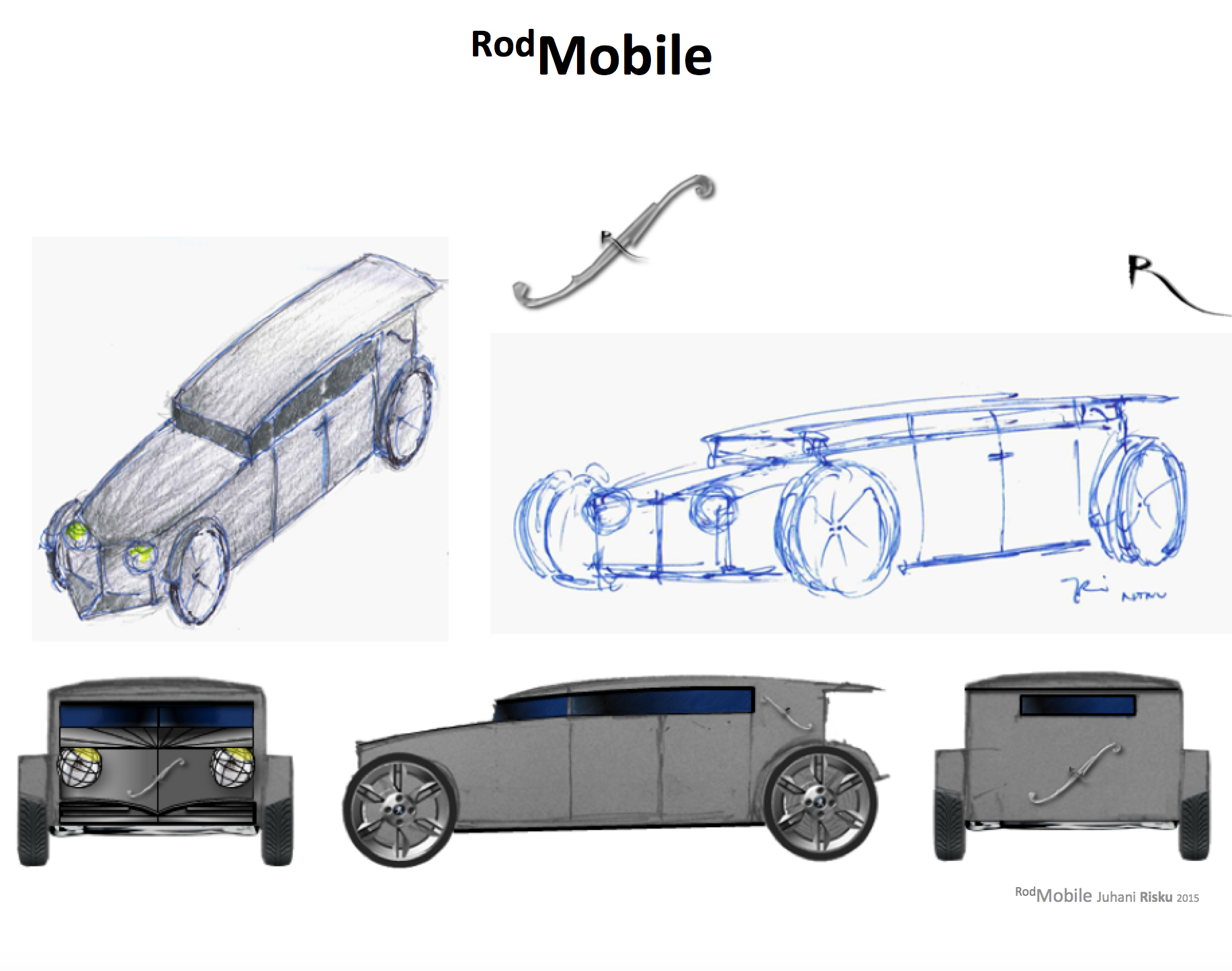Rodmobile Electric Car Architecture Rock