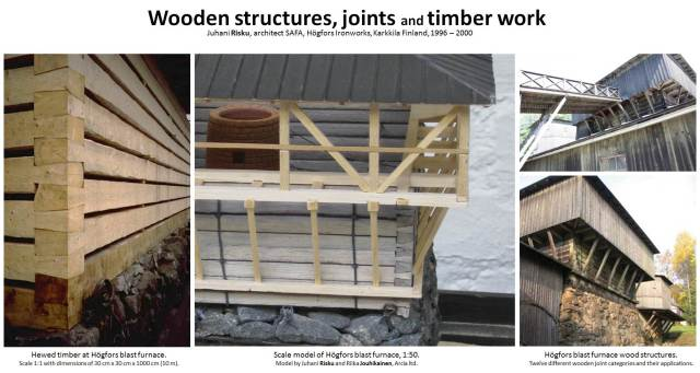 15_Architecture-Rock-Hogfors-Ironworks-Karkkila-Wooden-structures-joints-hewing-timber-work